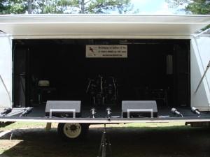 Worship truck open